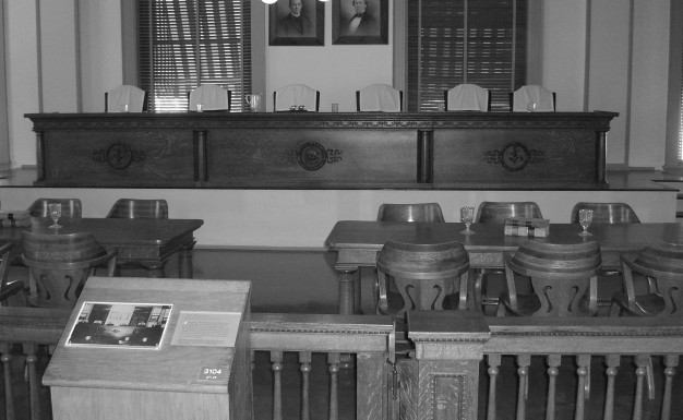 The old Florida Supreme Court Chamber